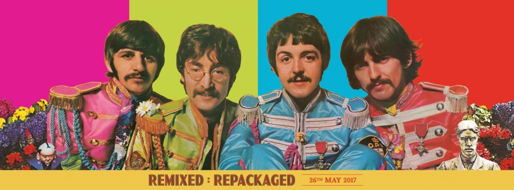 Sgt Pepper new release cover